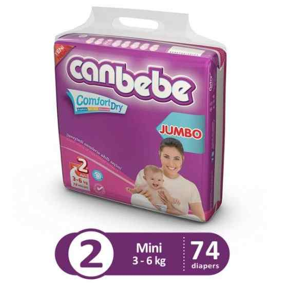 Canbebe Jumbo Pack For Mini Size 2 – Small – 74 Pcs