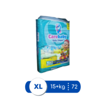 Care Baby Diapers XLarge Mega Pack Size 5 - 72 pcs