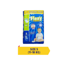 Flexy Baby Diapers XLarge Size 5 - 50 pcs