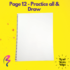 Magic White Note Book, Read write trace & wipe reusable book for kids - page 12