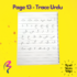 Magic White Note Book, Read write trace & wipe reusable book for kids - page 13