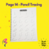Magic White Note Book, Read write trace & wipe reusable book for kids - page 14