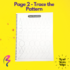 Magic White Note Book, Read write trace & wipe reusable book for kids - page 2