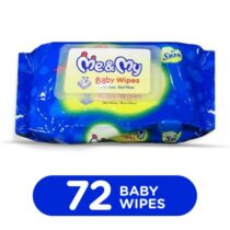 Me & my baby wipes 72 pcs sheets