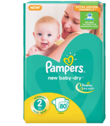 Pampers Baby Diapers Mega Pack Size 2 Banner Image
