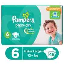 Pampers baby diapers mega pack xxlarge size 6 48 pcs