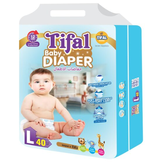 Tifal Baby Diaper Economy Pack Large Size 9-14 Kg
