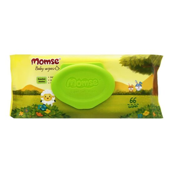 Momse Baby Wipes – 66 Sheets