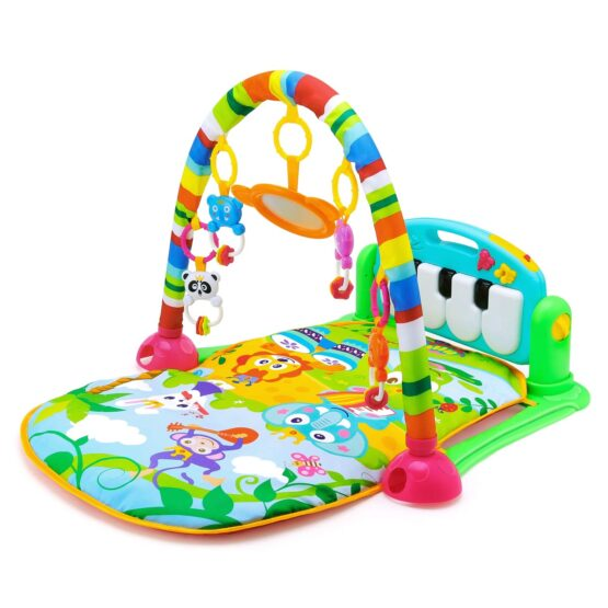 Baby Play Gym Piano Fitness Rack Mat-11