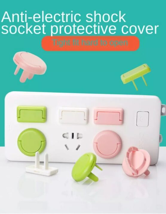 Switch Cover Baby Anti-shock Jack Plug Protector Cover Cap Dust Covers baby Electrical Safety Guard Protection (4 Pieces)