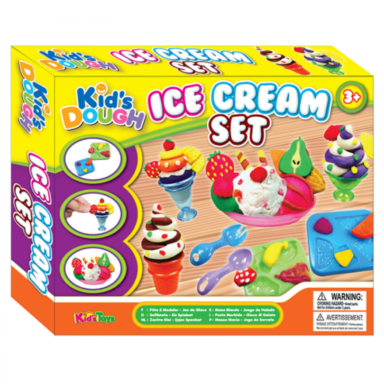 Ice Cream set dough for kids – King dough – Learning and Educational Toys